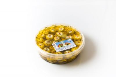Champignon gefüllt mit Käse   Artikelnummer4250122401063 VerpackungseinheitVERPACKUNGSEINHEIT