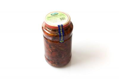 Eingelegte sonnengetrocknete Tomaten   Artikelnummer8008177102390 Verpackungseinheit2,9 kg