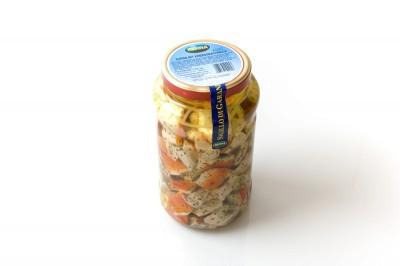 """Eingelegte Surimi mit Krebsgeschmack""""   Artikelnummer8008177102253 Verpackungseinheit2,9 kg"""