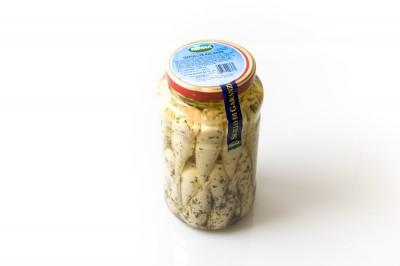 Eingelegte gefüllte Kalamari   Artikelnummer800177006131 Verpackungseinheit2,9 kg