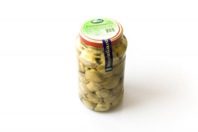 Eingelegte Artischockenherzen in Öl   Artikelnummer800177016499 Verpackungseinheit2,9 kg