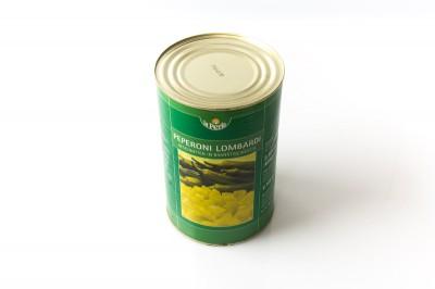 Eingelegte Pepperoni Lombardi geschnitten   Artikelnummer40006795859119 Verpackungseinheit3,5 kg