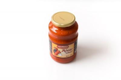 Ajvar scharf und mild   Artikelnummer8697713456679 Verpackungseinheit2,5 kg