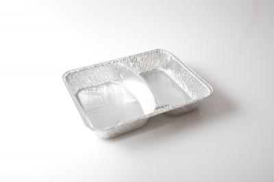 Alu Schale in 2 Gteilt   ArtikelnummerkA Verpackungseinheit100 stk