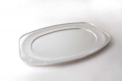 Alu Sevier Schale groß   Artikelnummer8011851108519 Verpackungseinheit10 stk