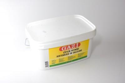 Gazi Hirtenkäse In Salzlake 55% Fett i. Tr.   Artikelnummer4002566003521 Verpackungseinheit3,5 kg