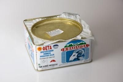 Griechischer Schafskäse   Artikelnummer5204904000011 Verpackungseinheit4,5 kg