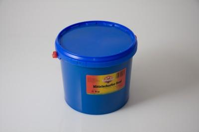 """Siebenstern Mittel Scharfer Senf""""   Artikelnummer4006660000035 Verpackungseinheit5,0 kg"""