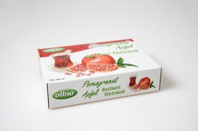 Granatapfel Instant-Teegetränk   Artikelnummer8692335079664 Verpackungseinheit300 g